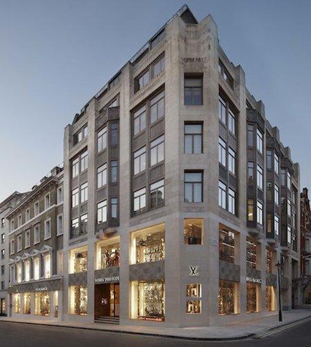 Nueva boutique Louis Vuitton en Londres