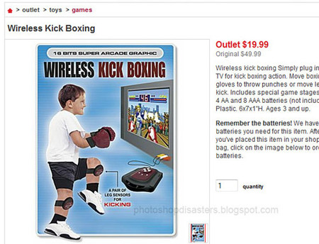 Wireless Kick Boxing