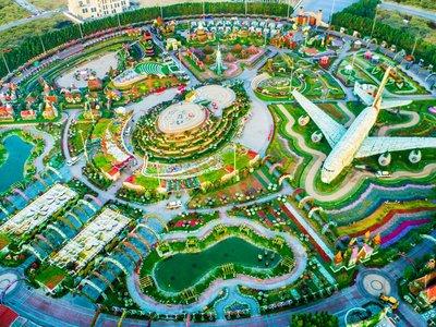 Dubai Miracle Garden, el jardín de flores naturales más grande del mundo