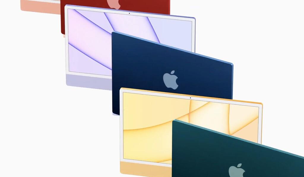 El nuevo iMac además reluce en los benchmarks: hasta un 56% más rápido que los mejores iMac Intel℗ de 21,5 pulgadas