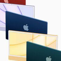 El nuevo iMac también reluce en los benchmarks: hasta un 56% más rápido que los mejores iMac Intel de 21,5 pulgadas