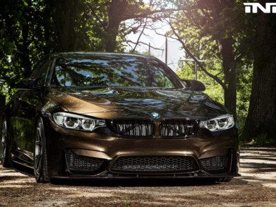 Cuando el color marrón se convierte en deportivo gracias a un BMW M4