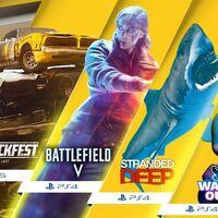 Battlefield V y Wreckfest encabezan los títulos de PlayStation Plus de mayo de 2021