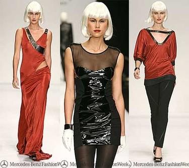 Bebe en la Semana de la moda de Los Ángeles Otoño/Invierno 2007/08