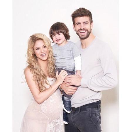 Shakira Pique Y Milan