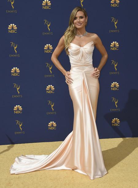 Heidi Klum Emmys 2018 zac posen