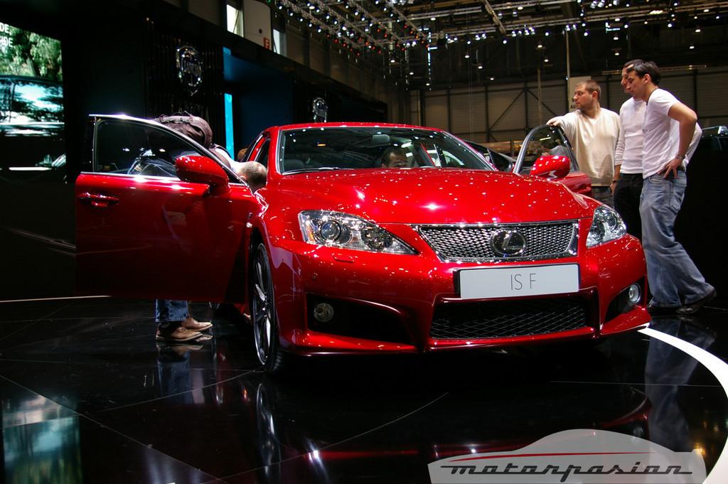 Foto de Lexus IS-F en el salón de Ginebra (1/10)