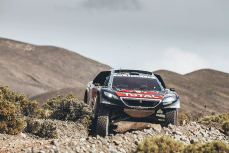 Carlos Sainz Dakar Peugeot