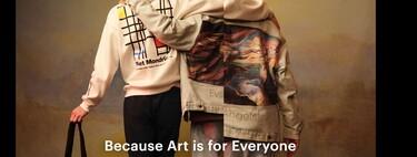 De Mondrian a Kandinsky, el arte se lleva en clave urbana con la nueva colección de Pull&Bear