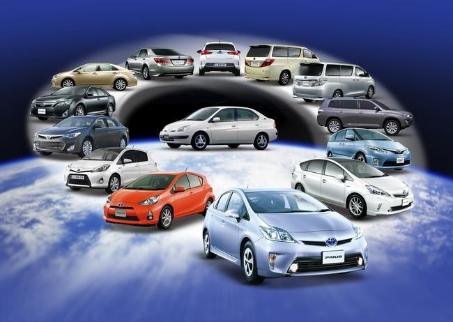 Gama híbrida Toyota - 5 millones