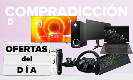 22 ofertas del día en Amazon: smart TVs Philips, portátiles y sobremesa HP, Lenovo o MSI, monitores AOC, periféricos Logitech o conectividad ASUS a precios rebajados