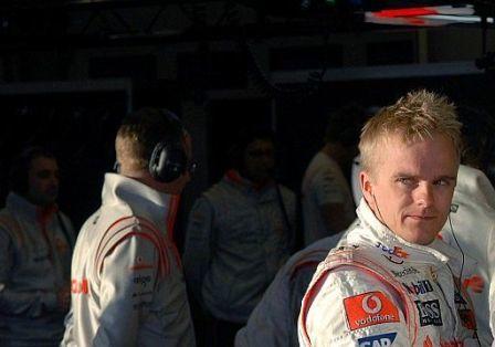 Heikki Kovalainen, el más rápido de la mañana (y de la pretemporada) en Jerez