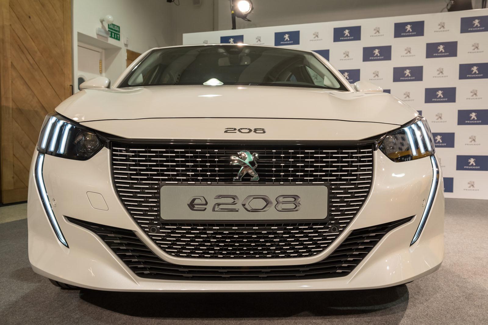 Foto de Peugeot 208 y e-208 2019 (presentación estática) (3/64)