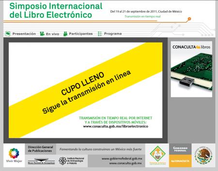 Con plazas llenas inicia hoy el Simposio Internacional del Libro Electrónico en México