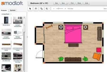 crea los planos de tus habitaciones con modloft