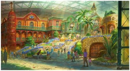 Ghibli Park, el parque temático dedicado a la obra de Hayao Miyazaki, se muestra en una serie de fascinantes diseños