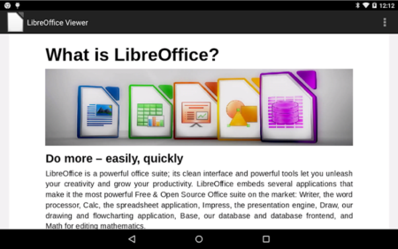 Libre Office Viewer