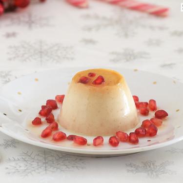 Flan de turrón sin horno y sin huevo: receta sencilla para el postre de Navidad (o de aprovechamiento)