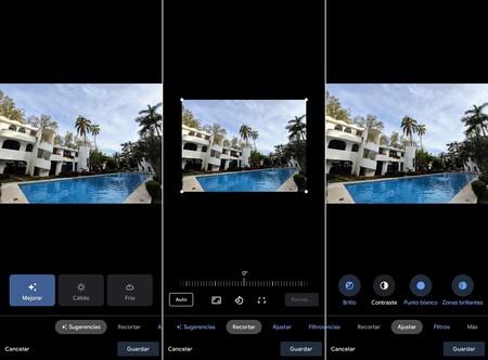 Como Usar Editor Google Fotos Controles