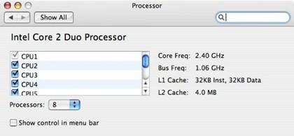 Actualizando un Mac Pro con 2 procesadores de 4 núcleos