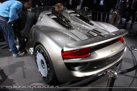 Porsche 918 Spyder, sólo faltáis 100 de vosotros para que lo fabriquen
