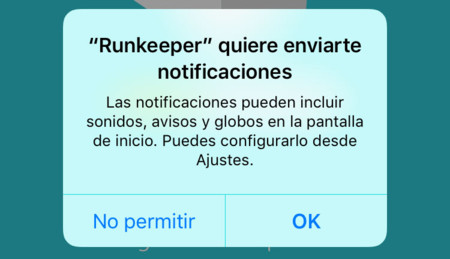 Pop-up para activar notificaciones