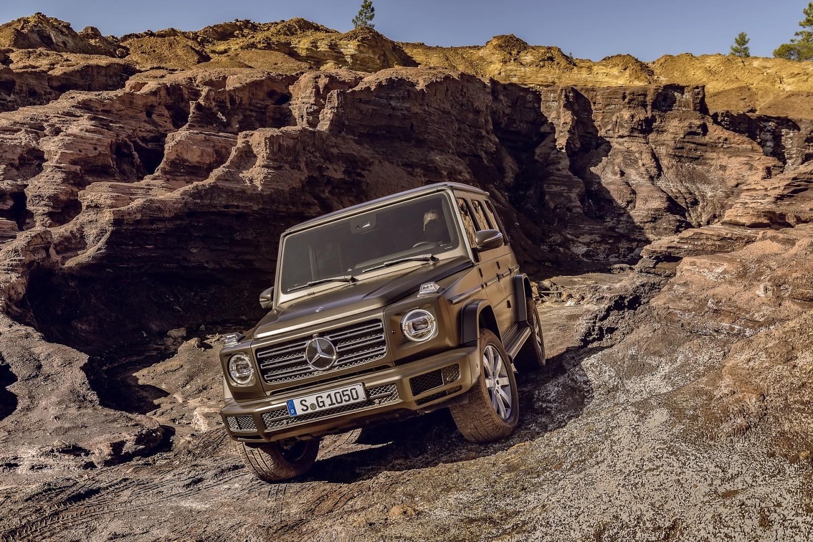 Foto de Mercedes-Benz Clase G 2019 (17/39)