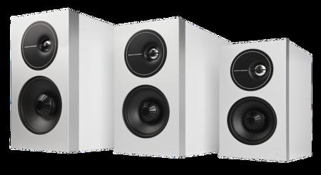 Definitive Technology Demand Series White Studio Family 001
