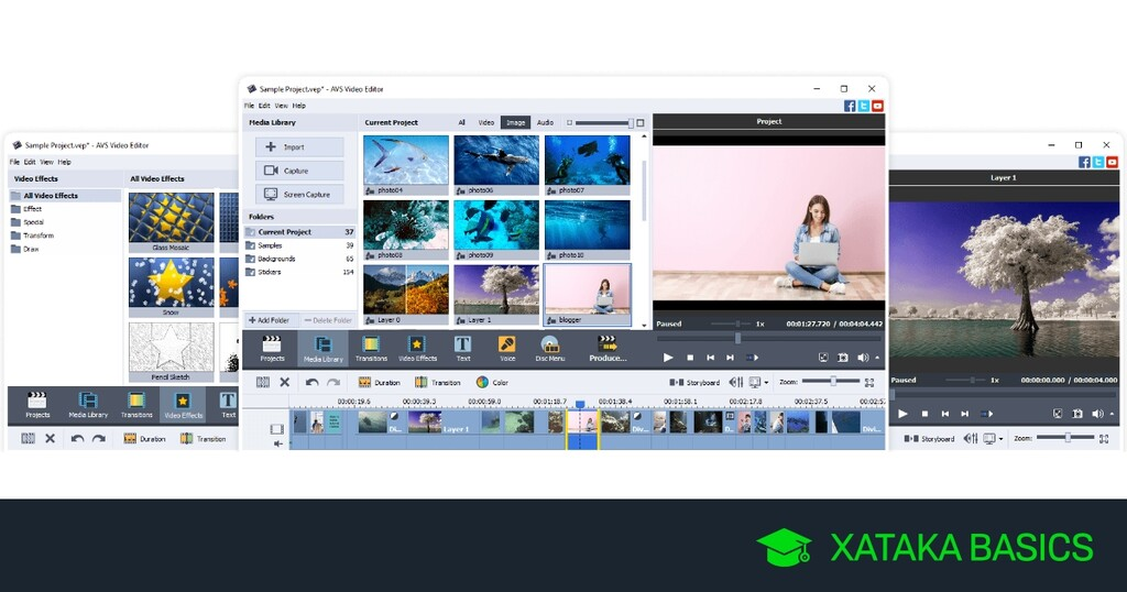 21 programas gratis para realizar vídeos con fotos y música