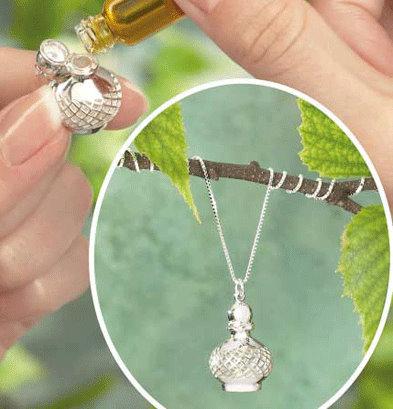 Aromatherapy Necklace, colgante con aroma