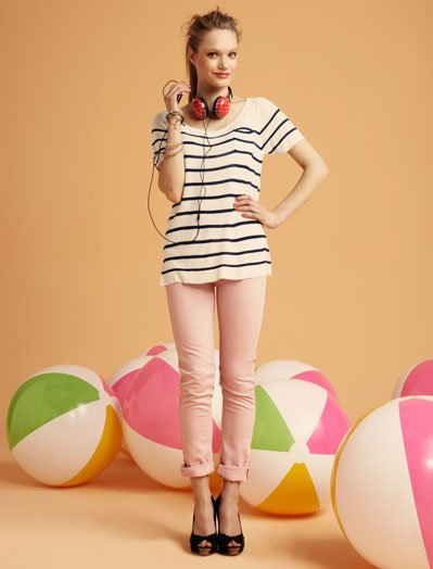 Camiseta Blanco, lookbook Verano 2011