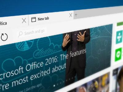 Microsoft Edge, el nuevo navegador de Windows 10 no llegará a Android