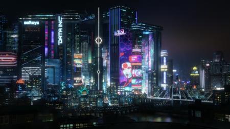 Night City al detalle: filtrado el mapa de Cyberpunk 2077