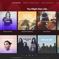 Spotify finalmente tiene un reproductor web que no usa Flash, y es maravilloso