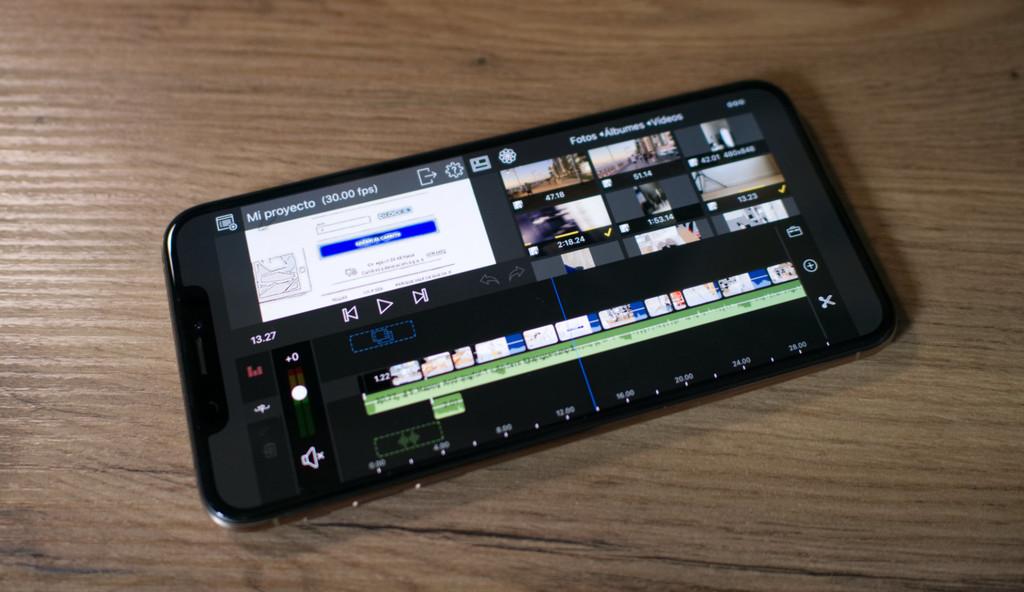 La edición de video en iOS℗ es posible: conjunto y primeros pasos