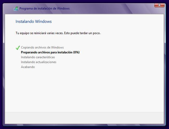 Instalar Windows 8 PRO