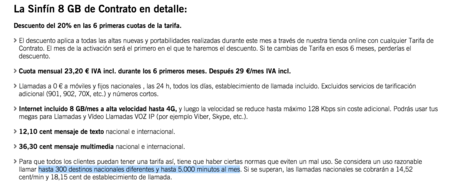 Las llamadas ilimitadas de la SinFín de Yoigo ahora son 5.000 minutos al mes