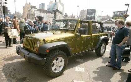 Jeep Wrangler Unlimited en el salón de Nueva York