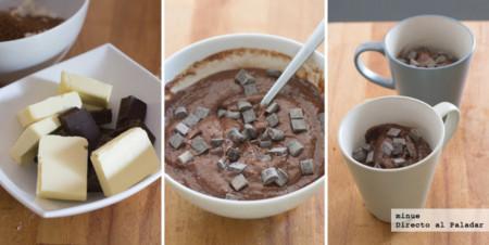 Mug Cake Brownie Elaboracion