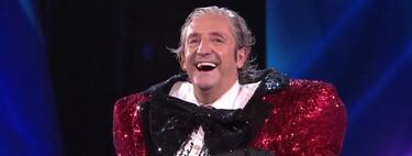 ¡El supuesto futbolista nos ha salido 'Rana'! Josep Pedrerol, inesperado famoso desenmascarado en 'Mask Singer 2'