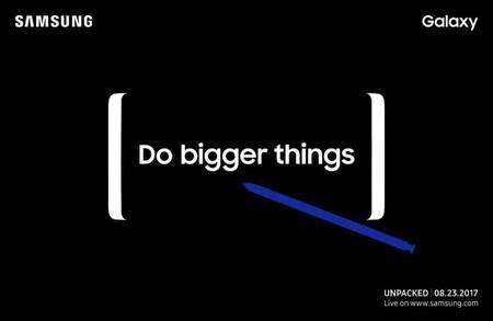 Samsung anuncia un nuevo evento de lanzamiento para el 23 de agosto ¿el Galaxy Note 8 vendrá en camino?