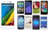 Así queda el Motorola Moto G 4G comparado con sus rivales