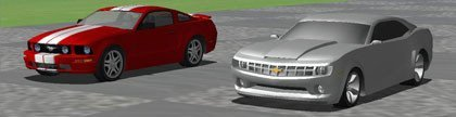 Chevrolet Camaro Z28 vs Ford Mustang Boss 330