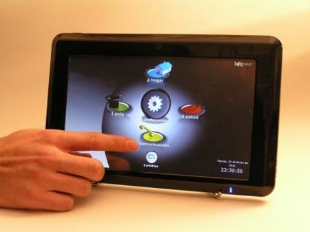 iFreeTablet, la tableta para el hogar digital made in Spain