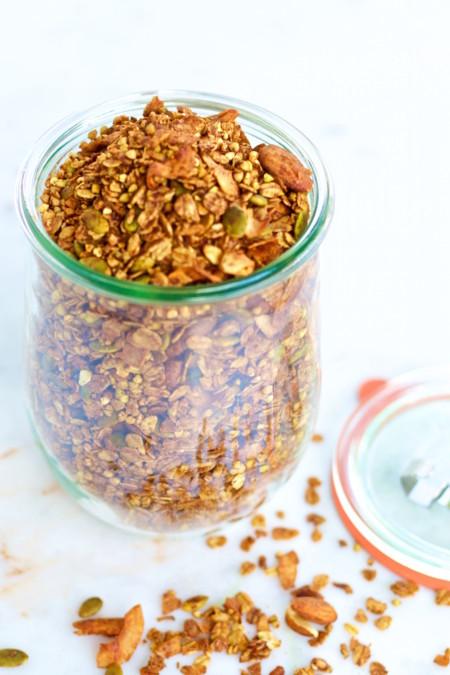 Granola Cocoa Canela Y Cayena 2