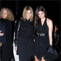 Front-row en el desfile de Givenchy