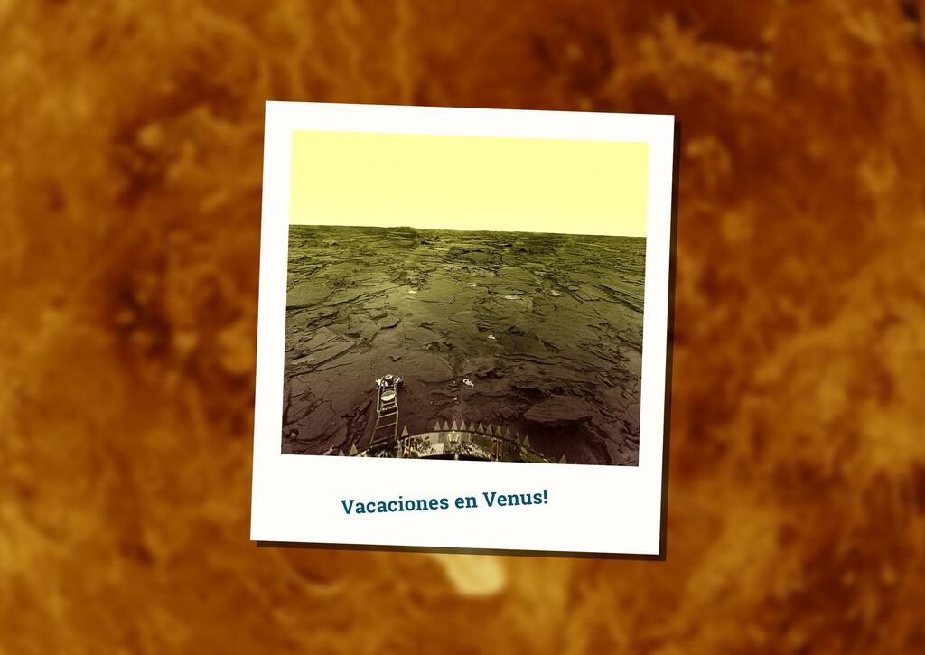 Un día en Venus: las (infernales) condiciones en la superficie del planeta vecino