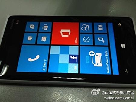 Nokia Lumia 920T, se filtra para el mercado chino con esteroides