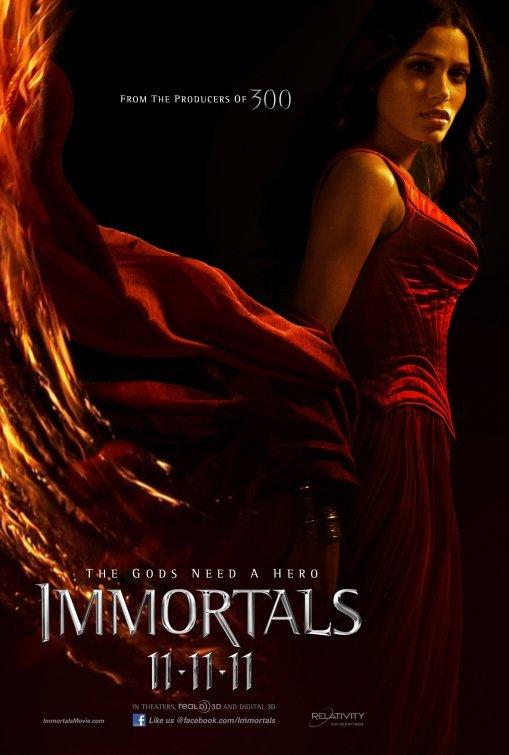 'Immortals', últimos carteles del film de Tarsem