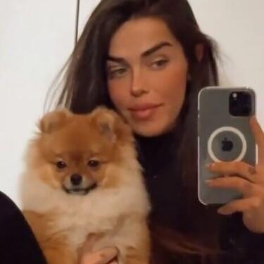 """La preocupación de Violeta Mangriñán por el estado de salud de su perrita: """"Está empeorando"""""""